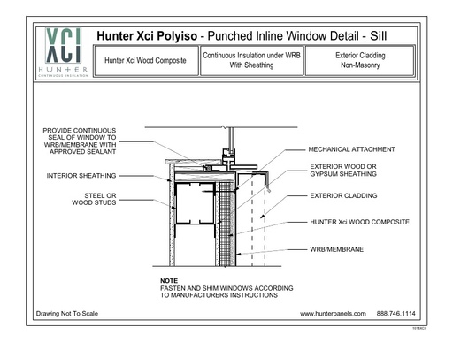 Hunter Panels Guide to Installing Polyiso - Sill - ISO ...
